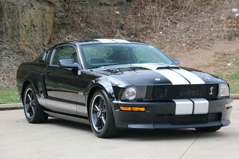 shelby 2007 mustang gt ford gt350