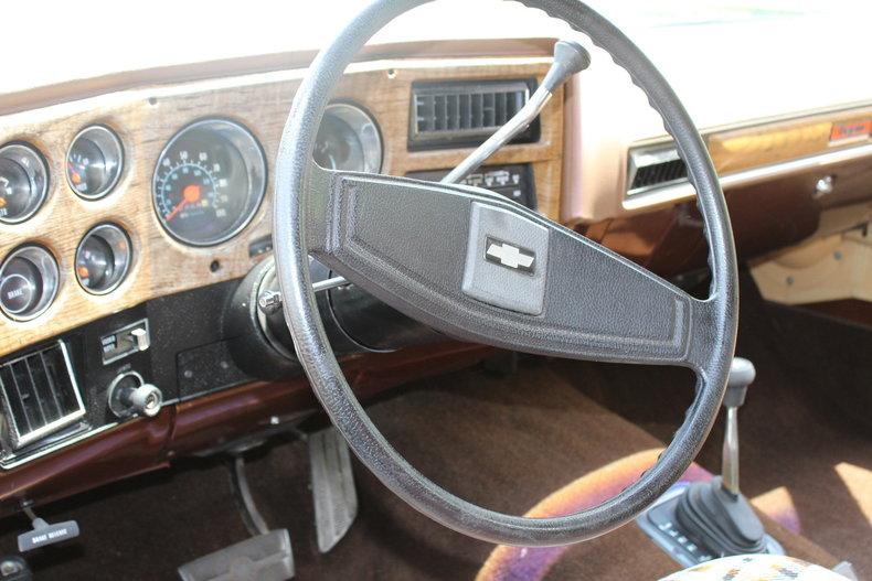 1977 1977 Chevrolet Blazer Chalet For Sale
