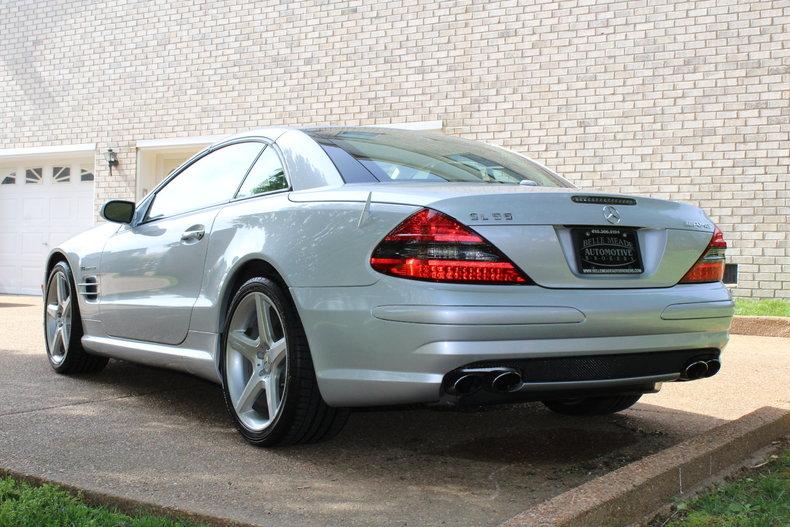 2007 2007 Mercedes-Benz SL55 AMG For Sale