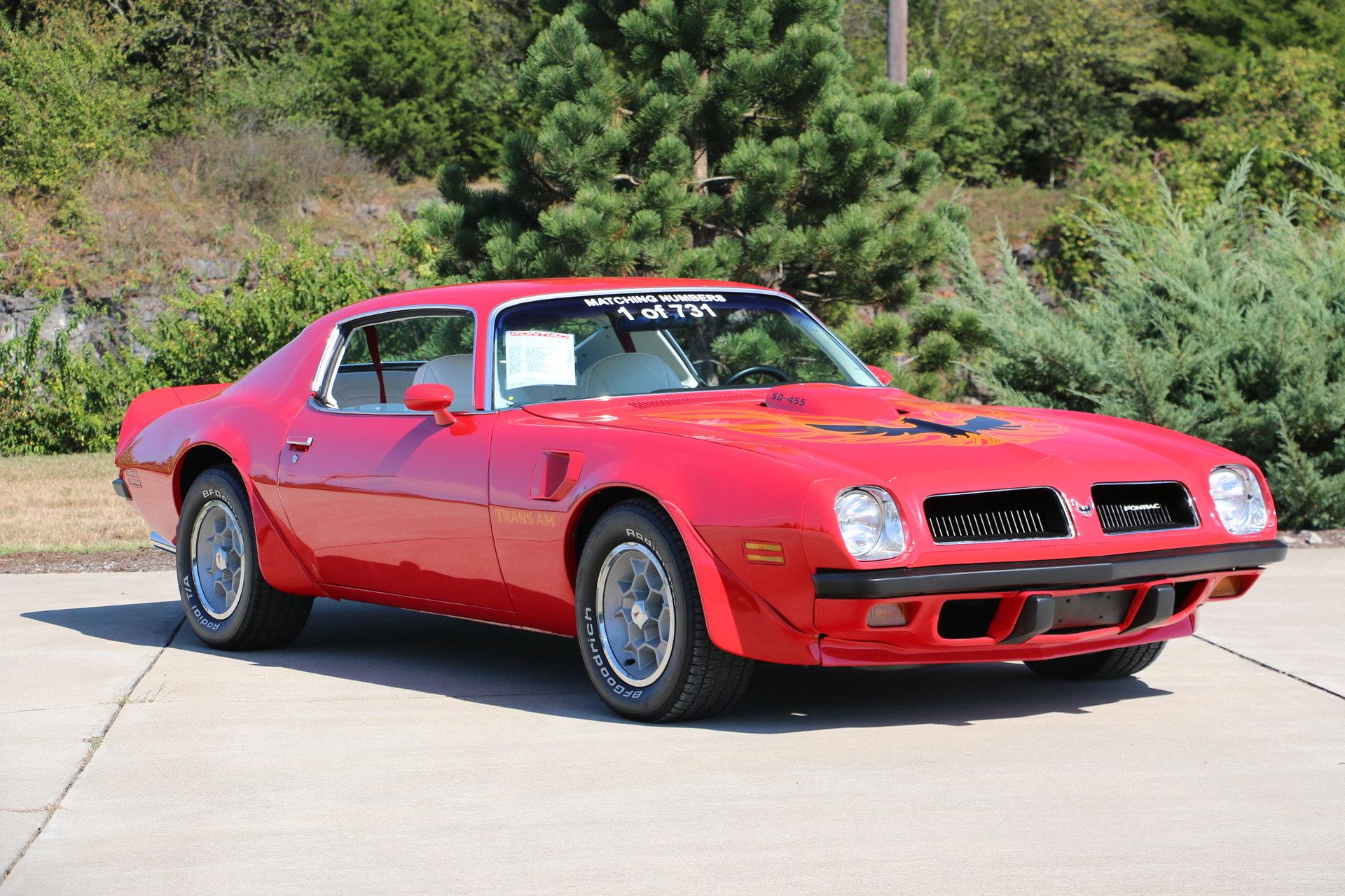 1974 Pontiac Trans Am for sale #69826 | MCG