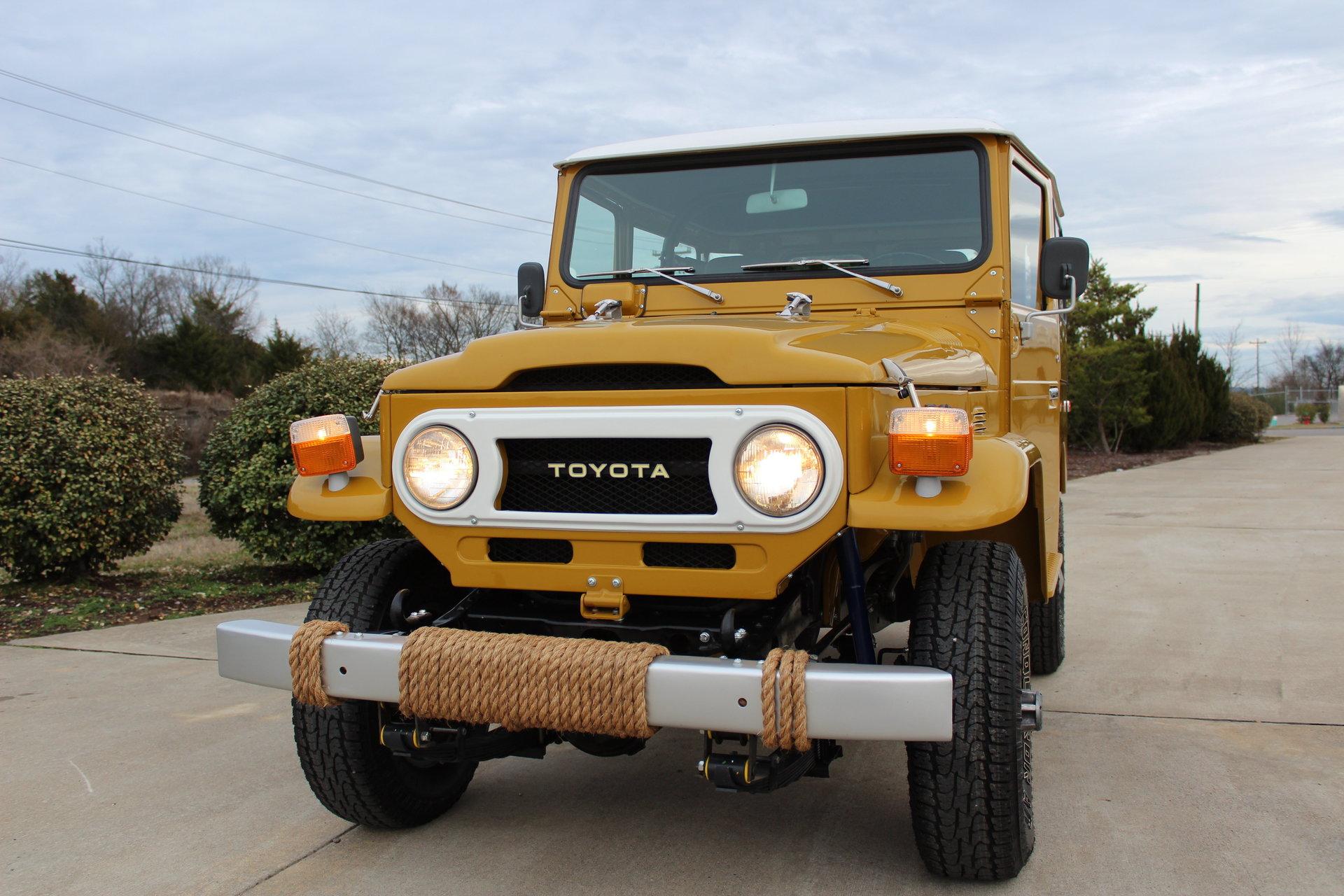 1976 Toyota Land Cruiser Fj40 For Sale 80937 Mcg