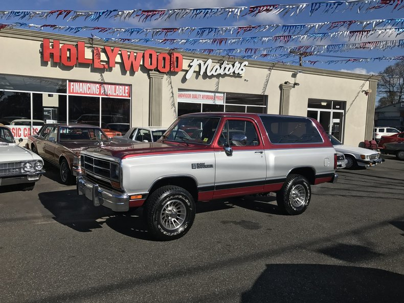 1988 Dodge Ram Charger
