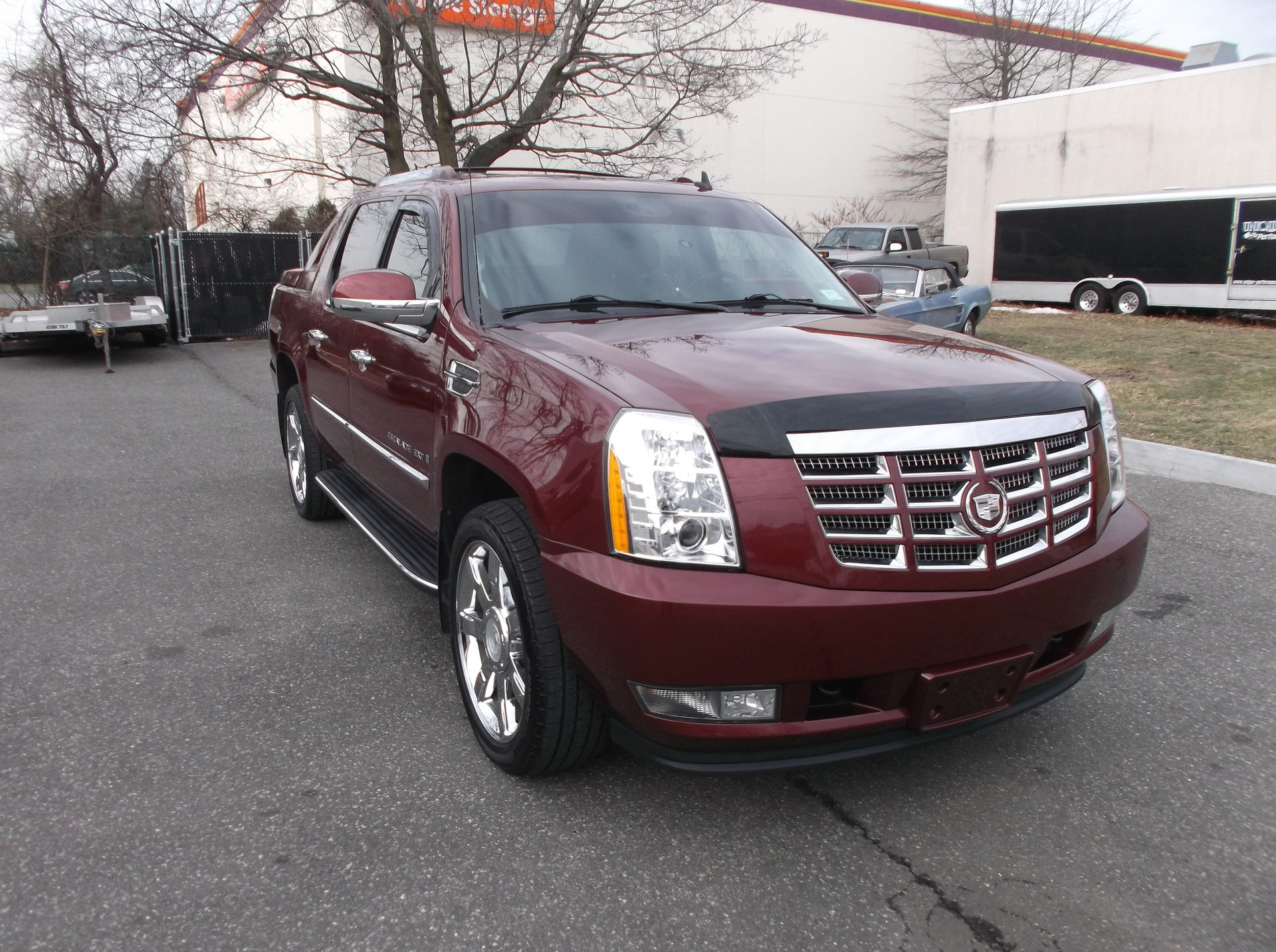 2008 cadillac escalade ext awd 4dr for sale 78930 mcg. Black Bedroom Furniture Sets. Home Design Ideas