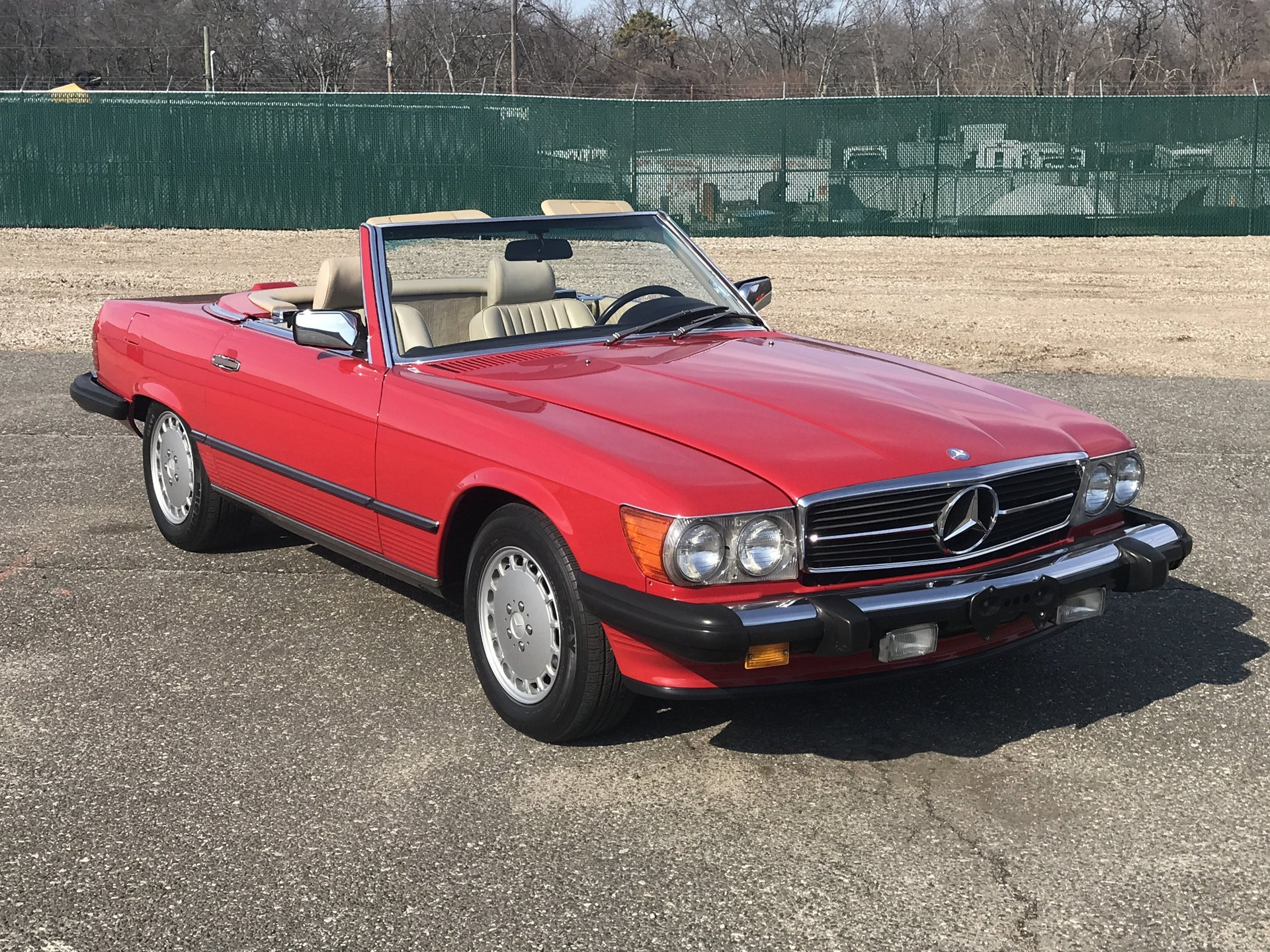1988 mercedes benz 560 sl roadster for sale 81241 mcg. Black Bedroom Furniture Sets. Home Design Ideas