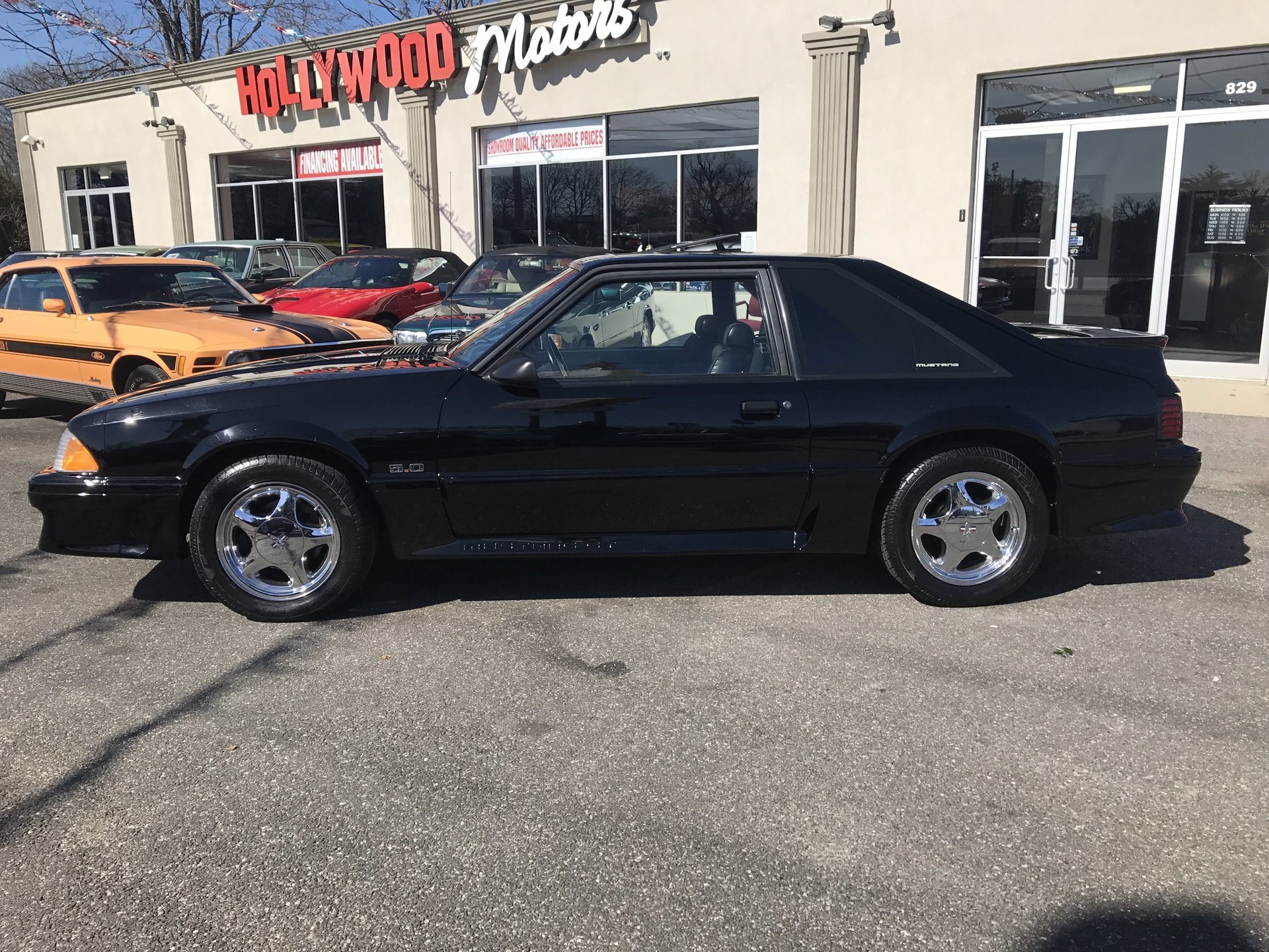 1990 Ford Mustang My Classic Garage