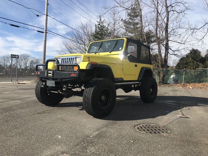 1989 Jeep Wrangler Yj For Sale 82284 Mcg