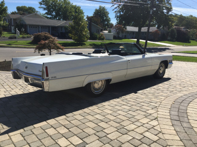 1970 cadillac deville convertible for sale 57534 mcg for Hollywood motors west babylon