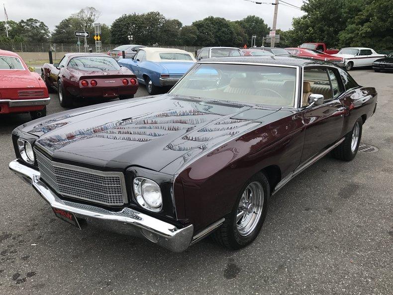 1970 1970 Chevrolet Monte Carlo For Sale