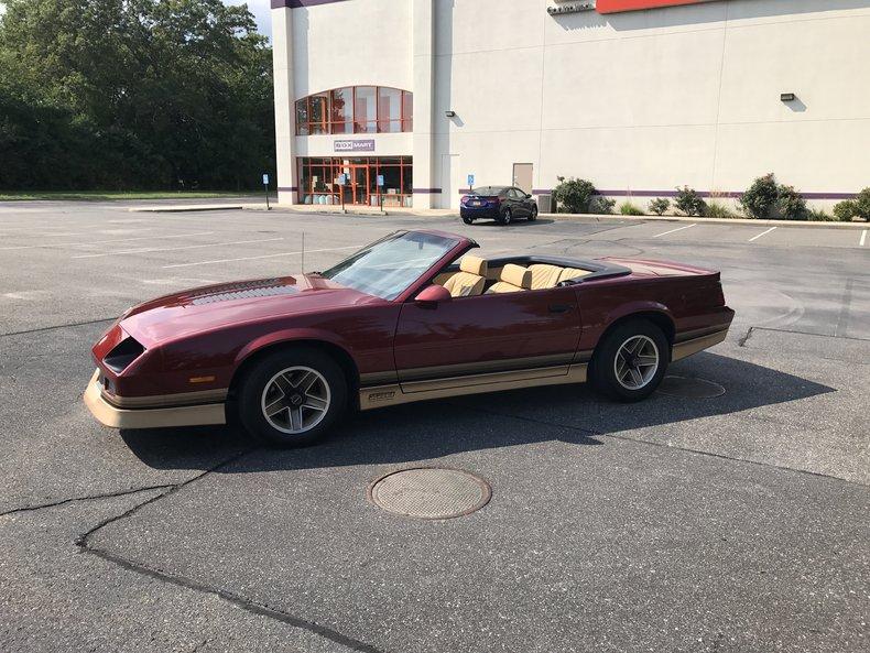 1987 1987 Chevrolet Camaro For Sale