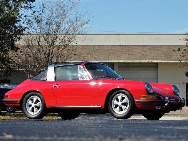 1967 Porsche 911 S Soft Window Targa