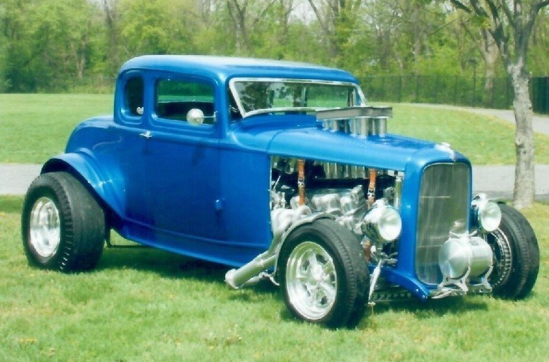 1932 FORD 5 WINDOW CPE/HOTROD