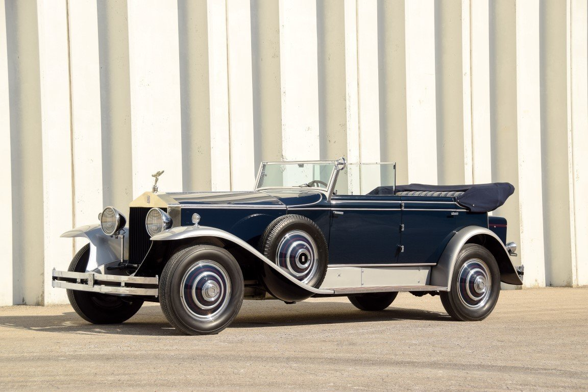5213c172502e hd 1930 rolls royce phantom i newmarket convertible sedan