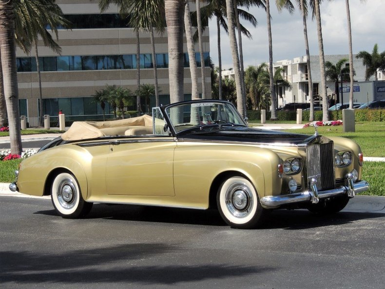 1963 ROLLS ROYCE SILVER CLOUD III DROPHEAD COUPE CONVERTIBLE