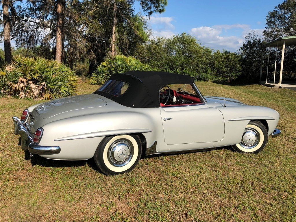 1960 mercedes benz 190sl amelia island select march 10 12th 2017 mustang wiring harness mercedes 190sl wiring harness #17