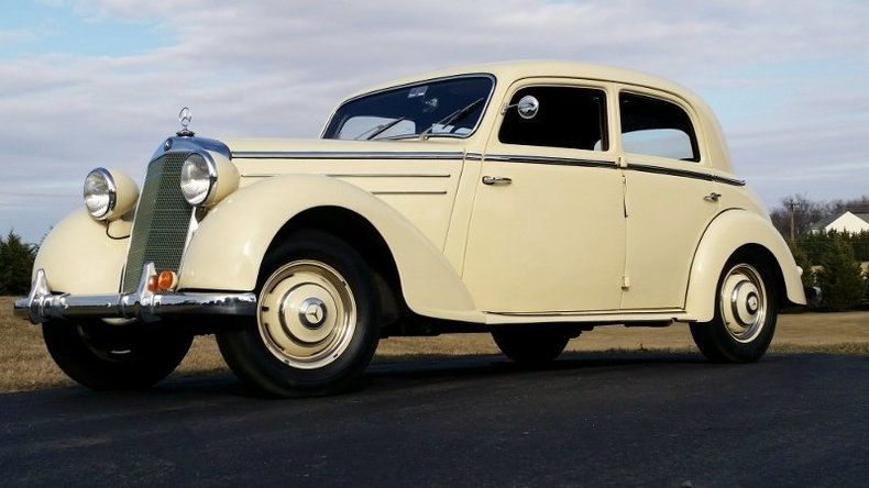 1949 Mercedes-Benz 170S