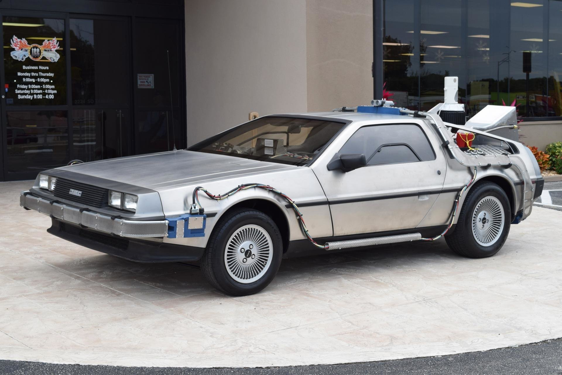 Z Movie Car Back To The Future DMC Ideal Classic Cars LLC - Car show venice florida