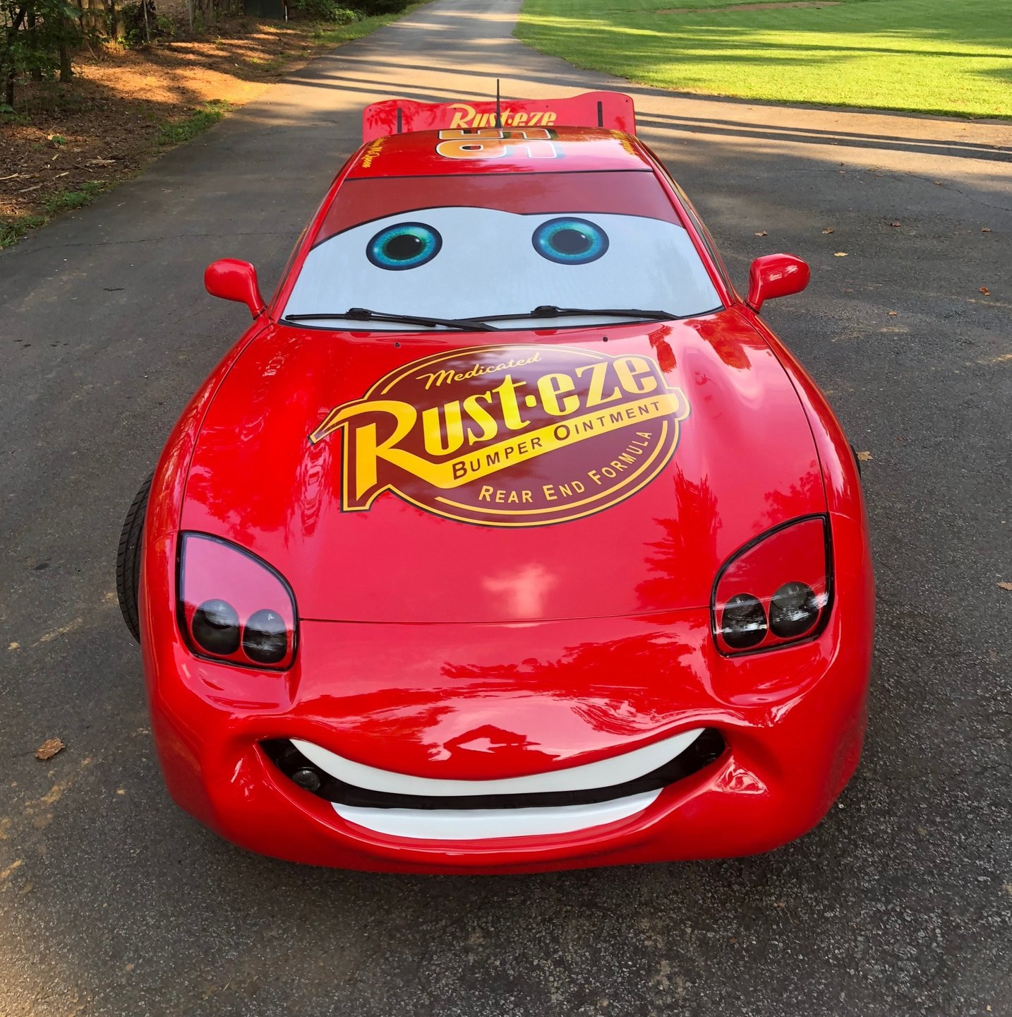 Cars The Movie: 1994 Z Movie Car Lightning McQueen