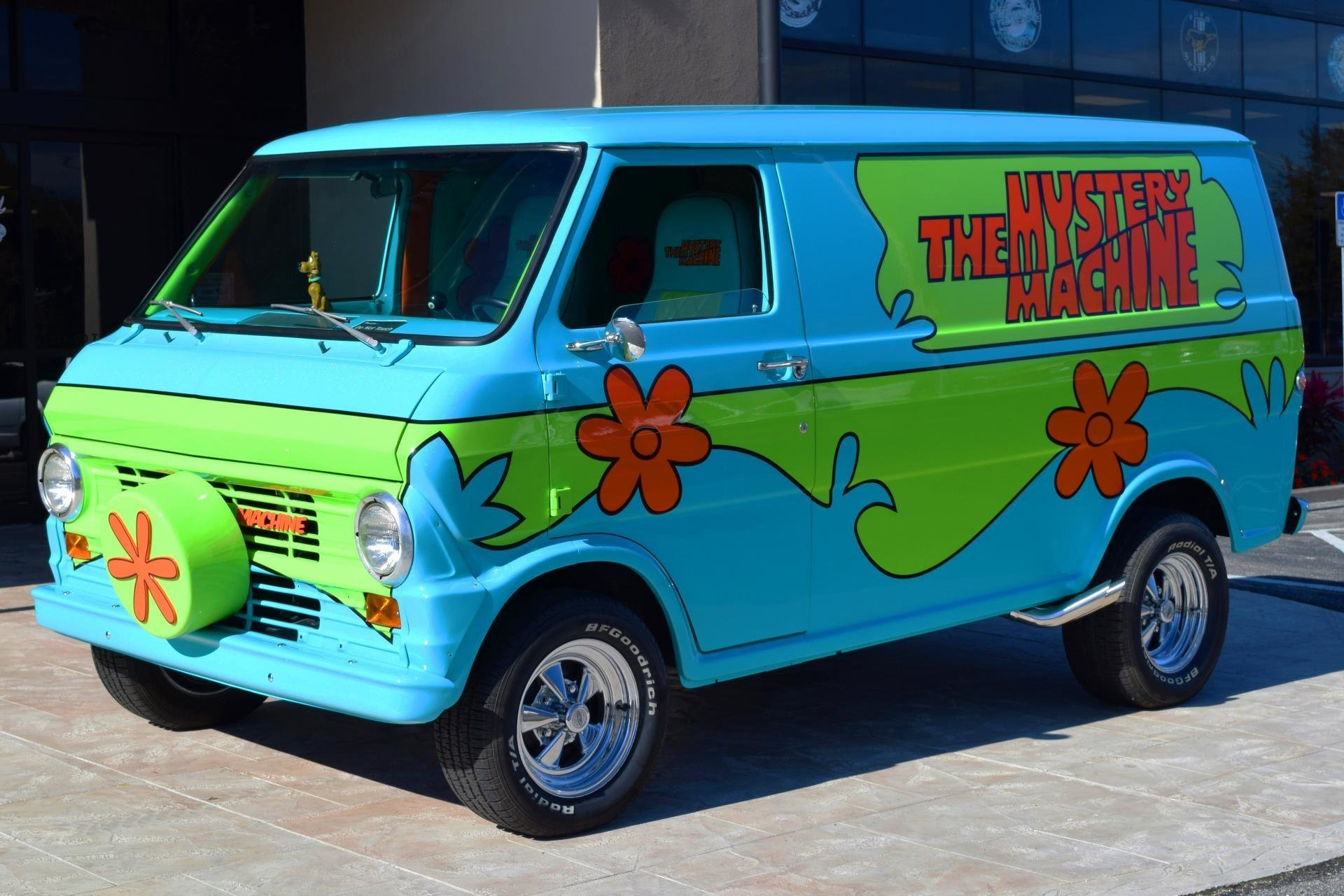 1972 z movie car scooby doo mystery machine ideal - Race de scooby doo ...