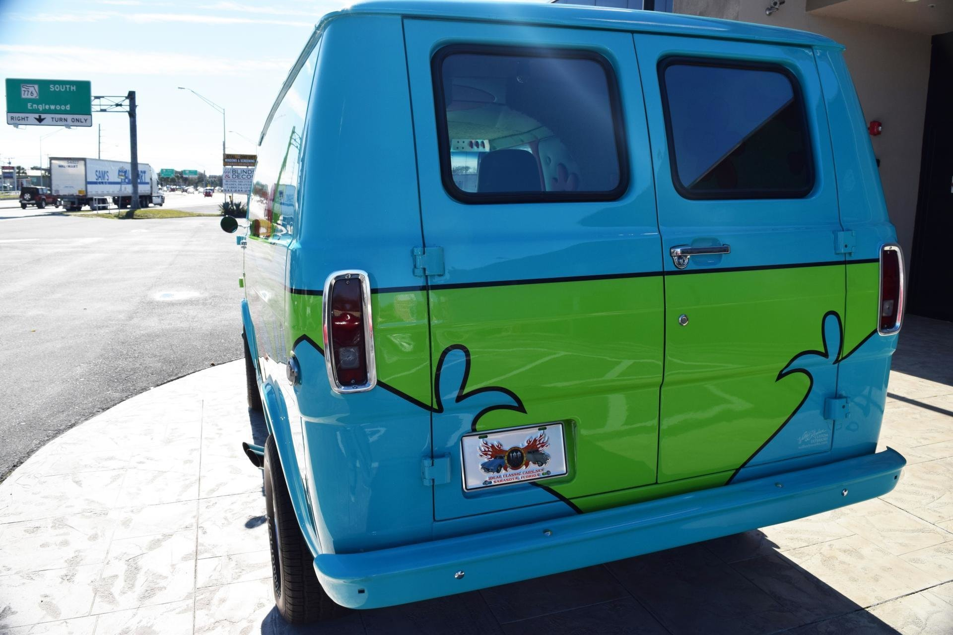 Poland Machinery Dealers Doo Mail: 1972 Z Movie Car Scooby Doo Mystery Machine For Sale