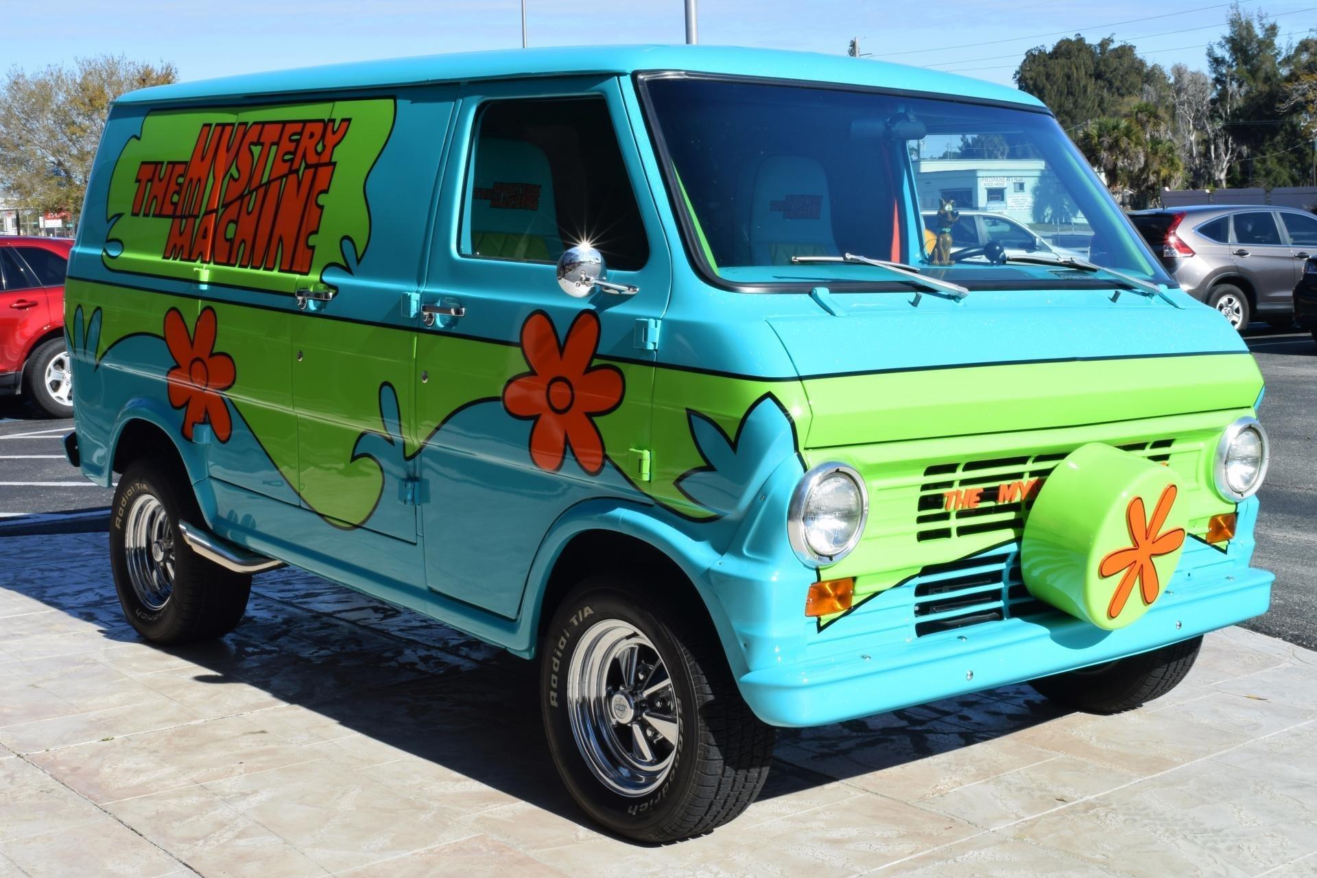 1972 Z Movie Car Scooby Doo Mystery Machine   Ideal ...