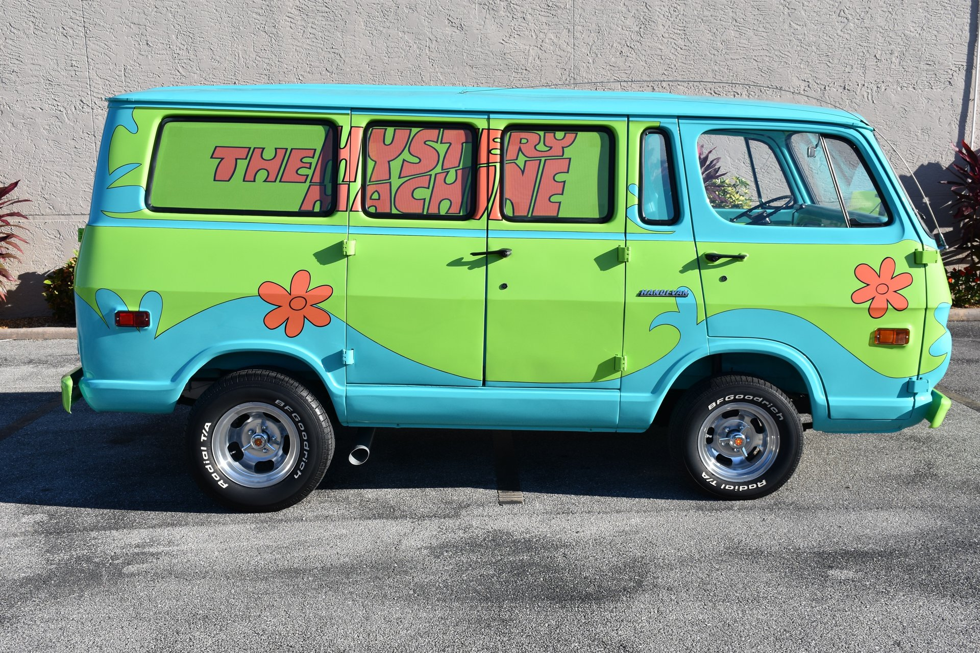 Poland Machinery Dealers Doo Mail: 1969 Z Movie Car Scooby Doo Mystery Machine For Sale