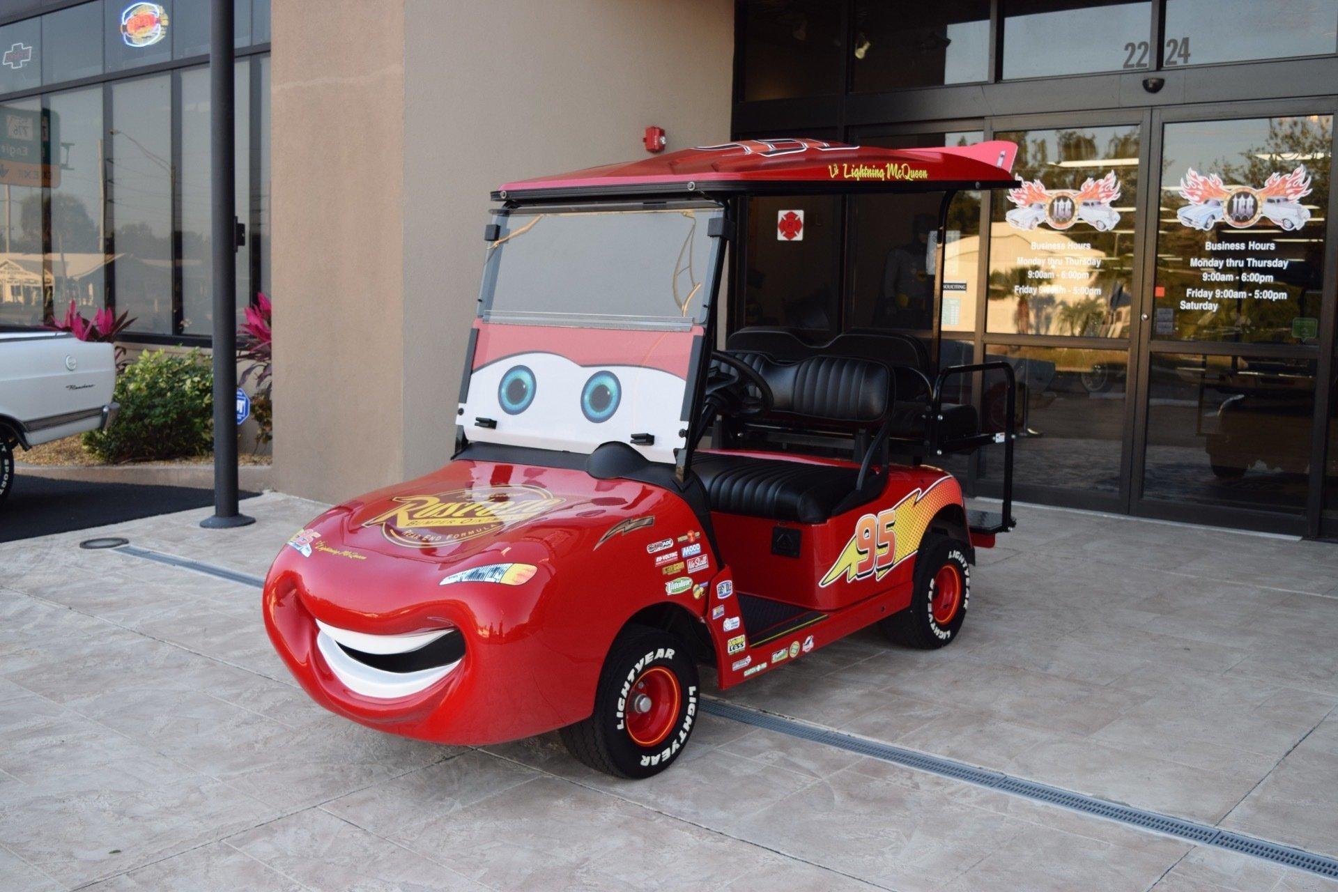 194767a1d733 hd 2013 z lightning mcqueen ez go rxv golf cart