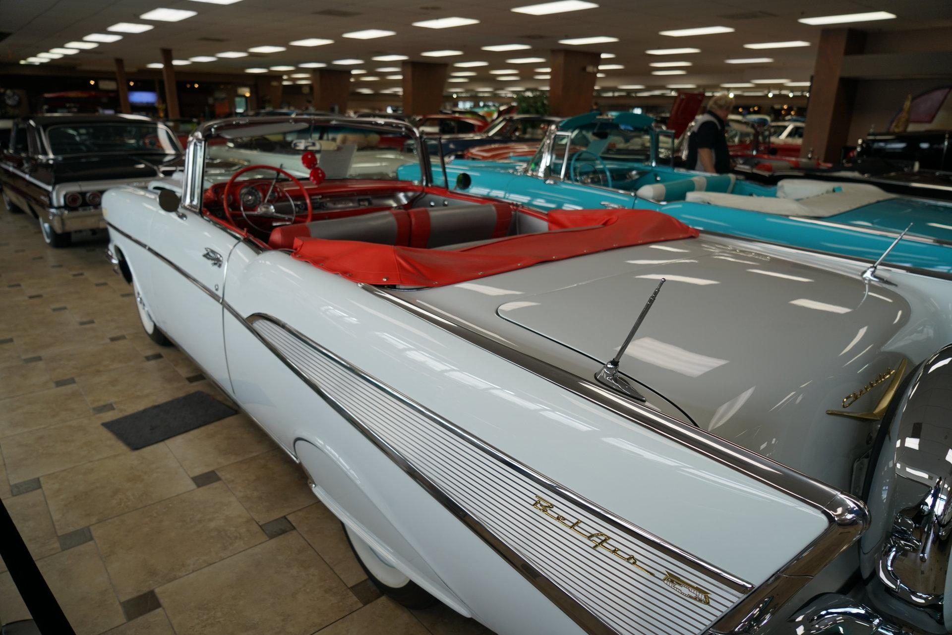 1957 Chevrolet Bel Air Ideal Classic Cars Llc