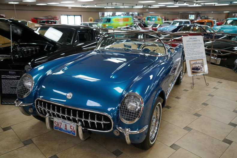128243a3a1eba low res 1954 chevrolet corvette