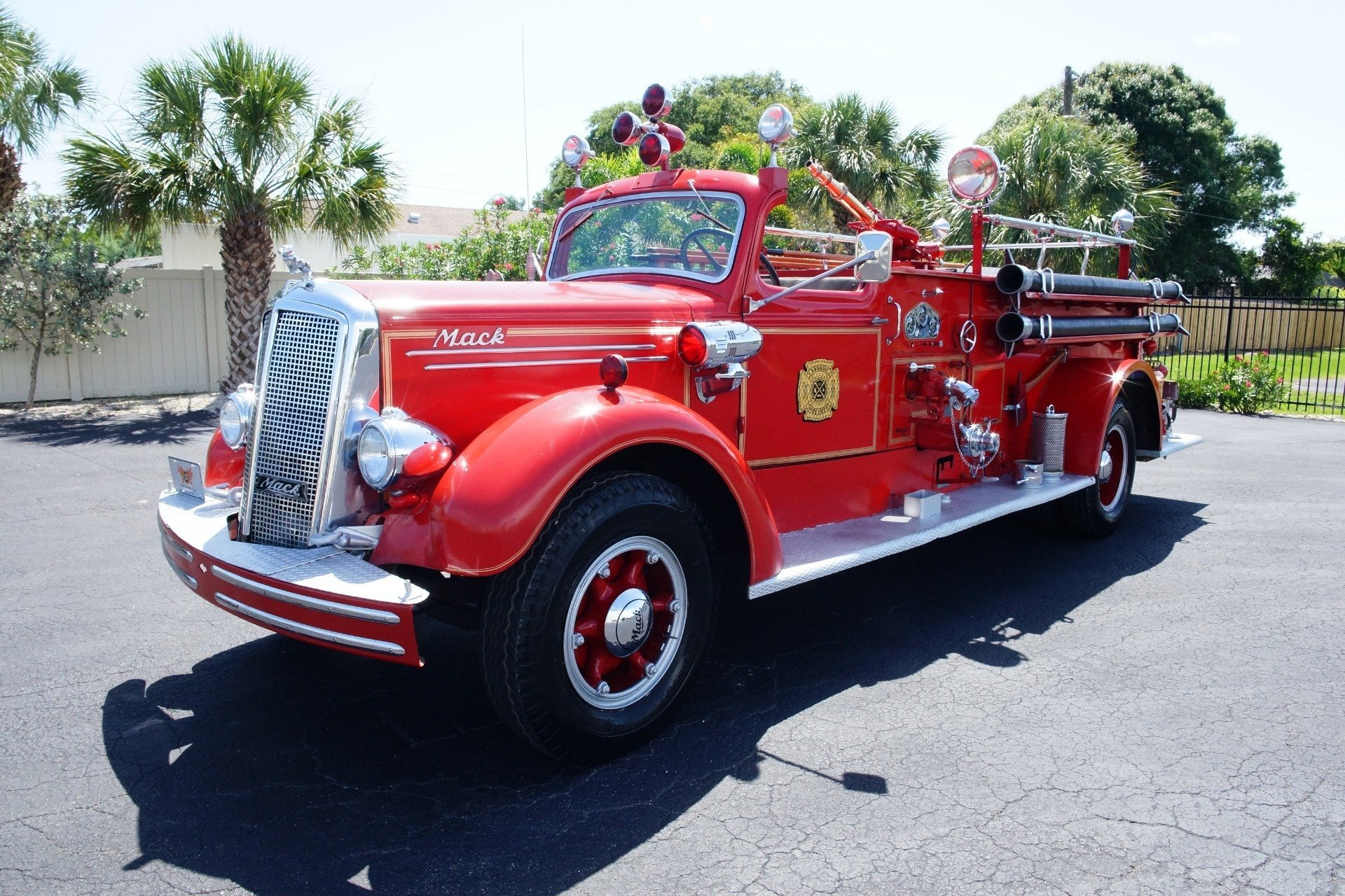 1943 mack model 505 fire truck ideal classic cars llc rh idealclassiccars net Fire Pump System Diagram 2000 Audi S4 Parts Diagram