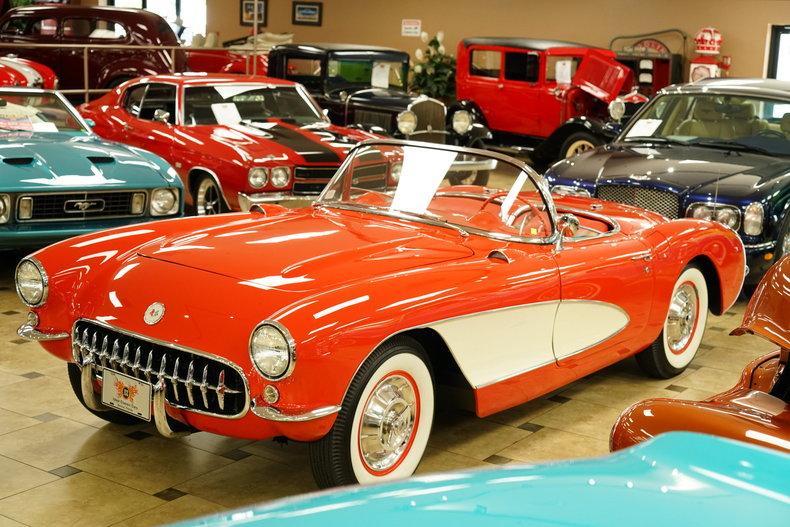 125785f8275e4 low res 1957 chevrolet corvette