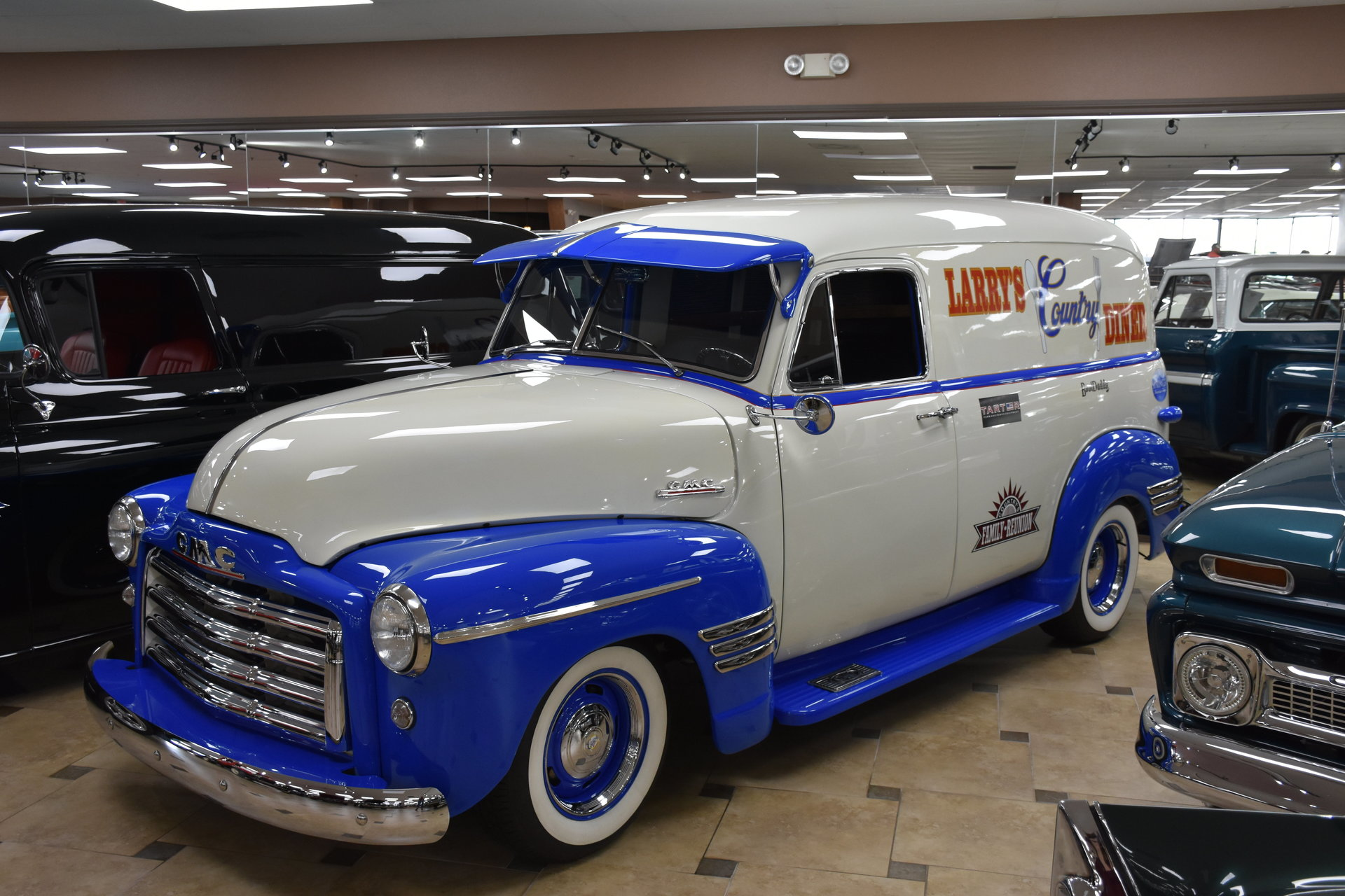 13710adf1c5f2 hd 1953 gmc 100 panel truck