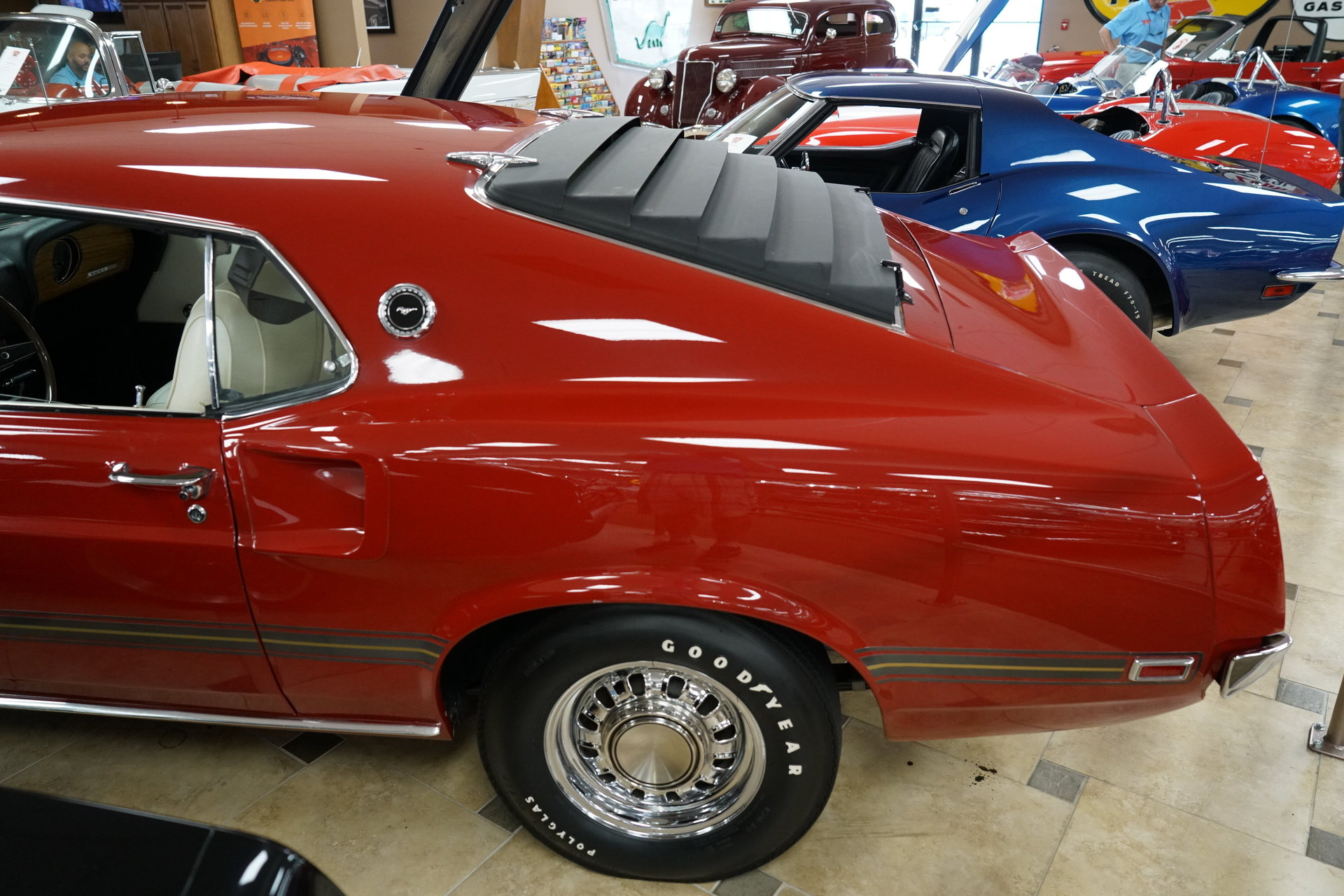 1969 Ford Mustang Ideal Classic Cars Llc Mach 1 Shaker Scoop 137407e1f85fd Low Res