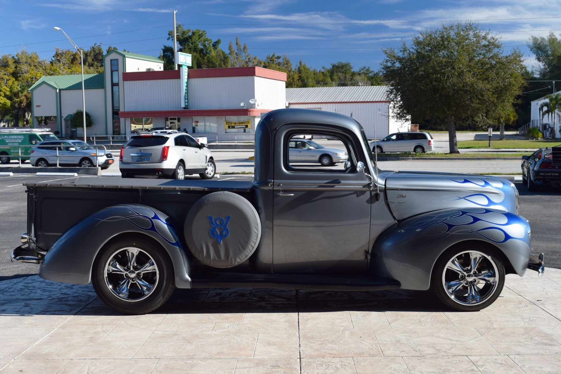 1941 Ford Pickup Ideal Classic Cars Llc Truck Front Fenders 83777aefe38c Low Res