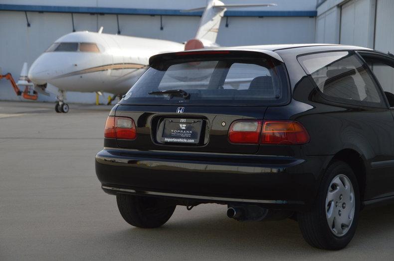 International Vehicle Importers 1991 Honda Civic Toprank