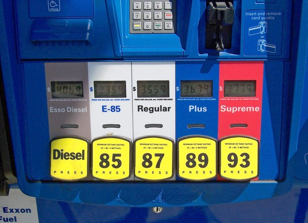 Octane ratings of fuel for your imported cars
