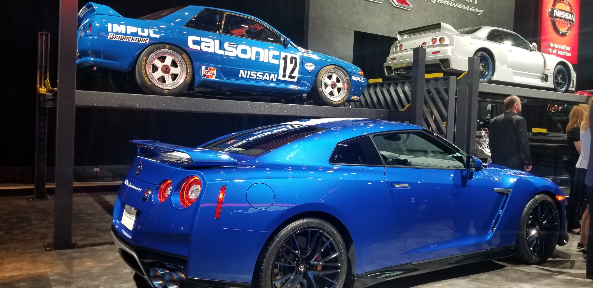 Nissan Dream Garage Calsonic R32 Wangan R35