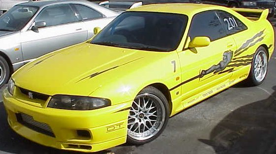 Big Bird R33 GT-R MotoRex