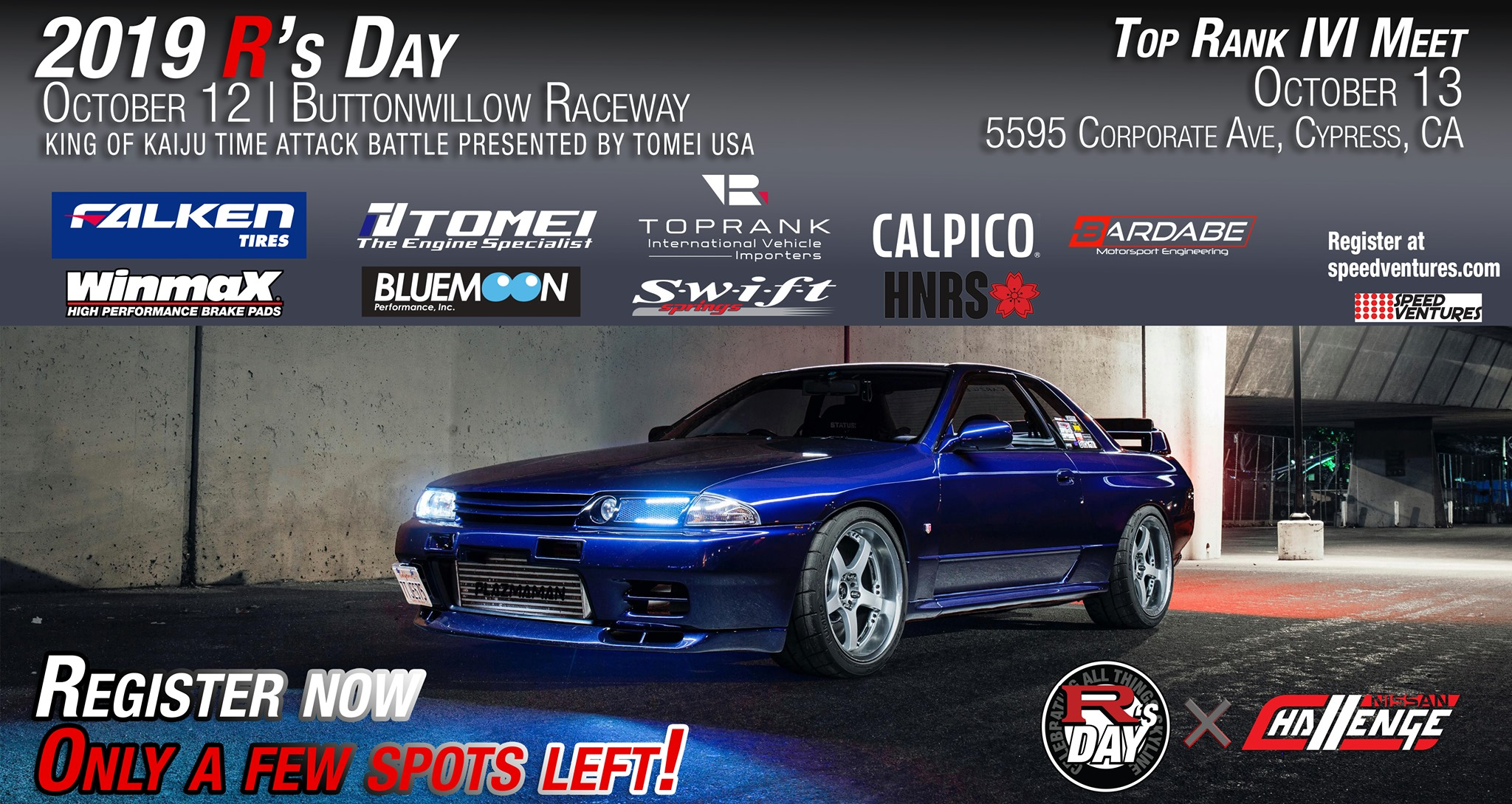 R's Day 2019 - Nissan Skyline GT-R