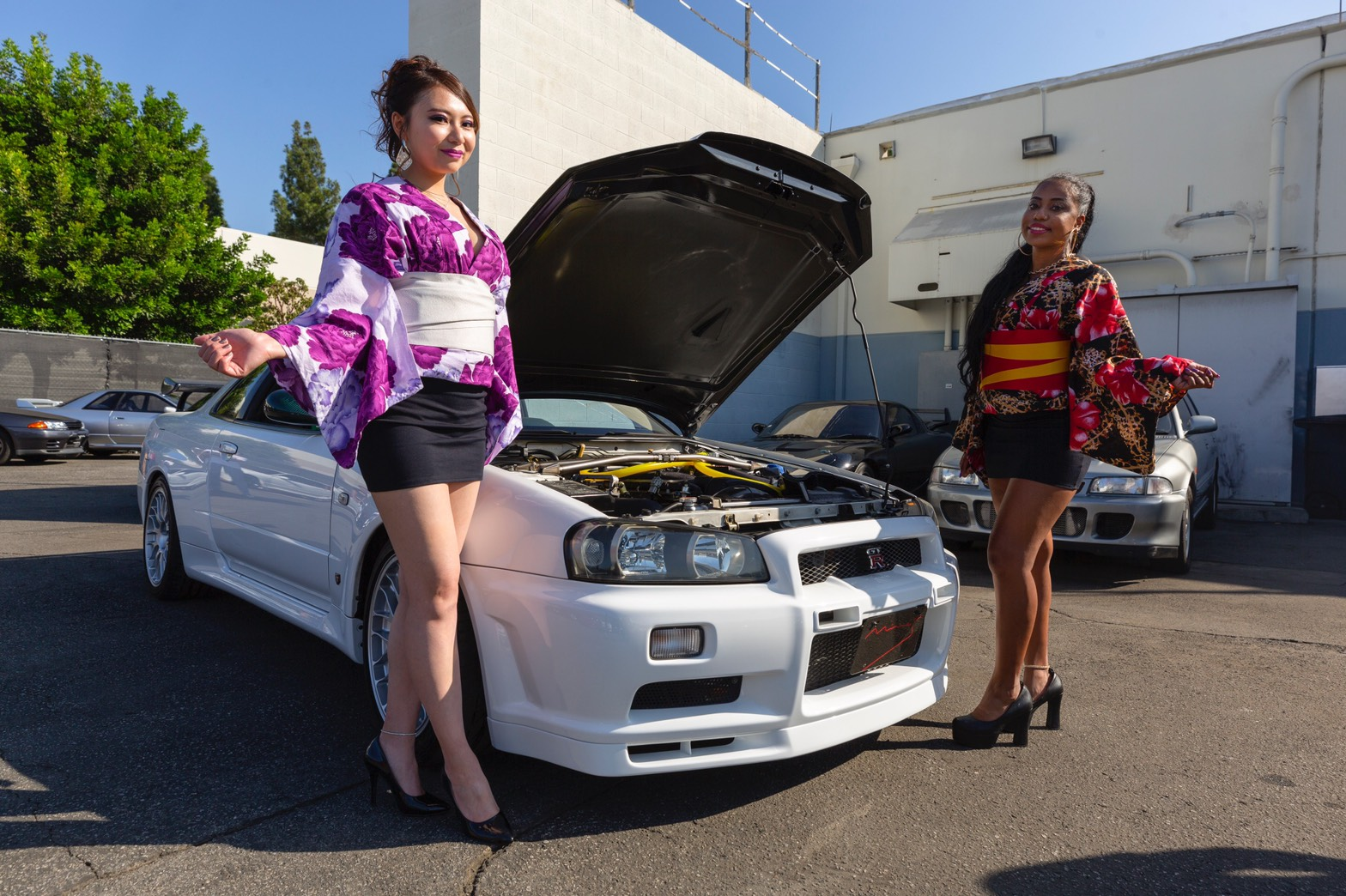R34 N1 with Mines Parts