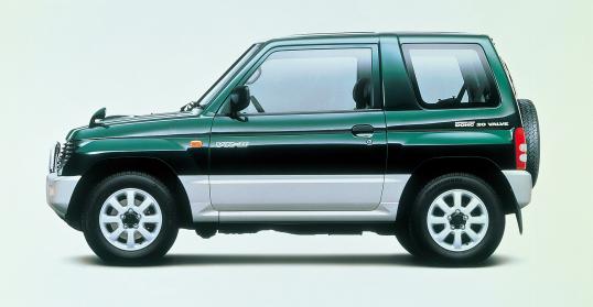 Mitsubishi Pajero Mini Kei car 660 cc