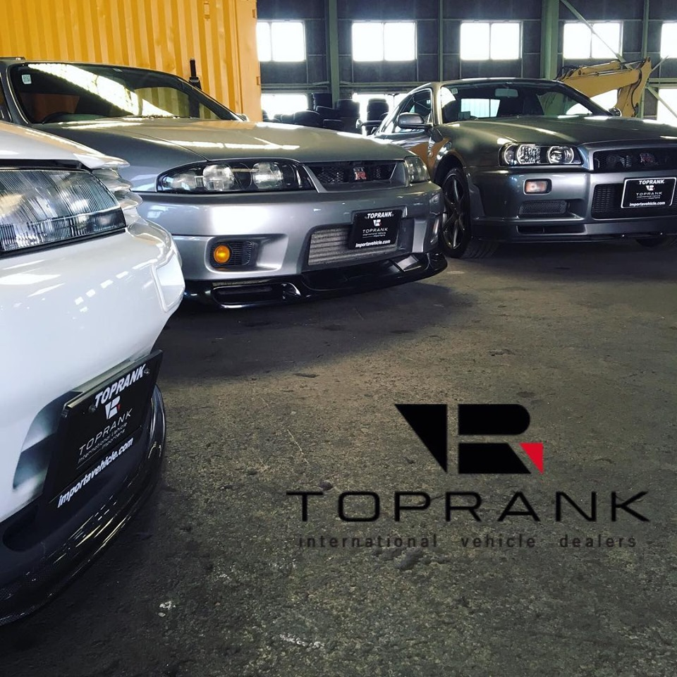 Toprank Imports R32 R33 and R34 GTR Buy at Auction and Store in Japan Legally