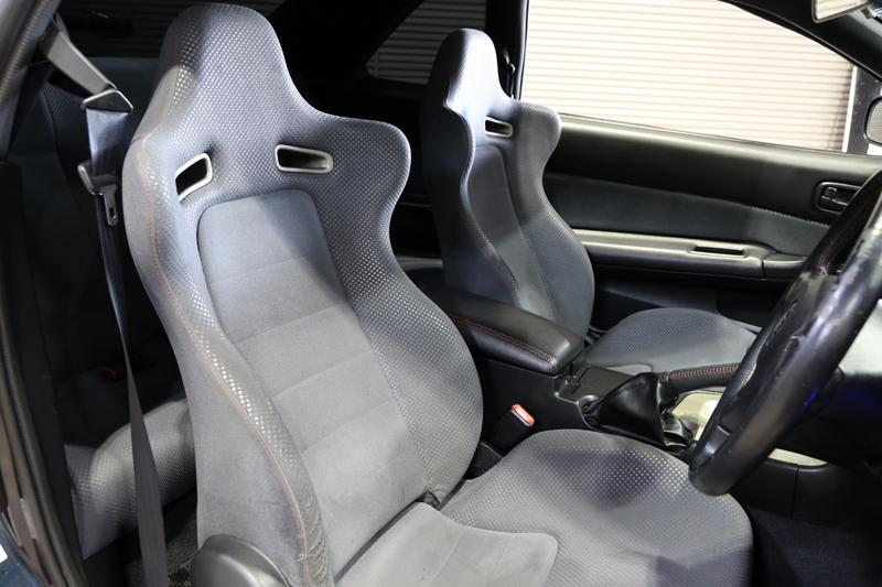 Early R34 seats grey
