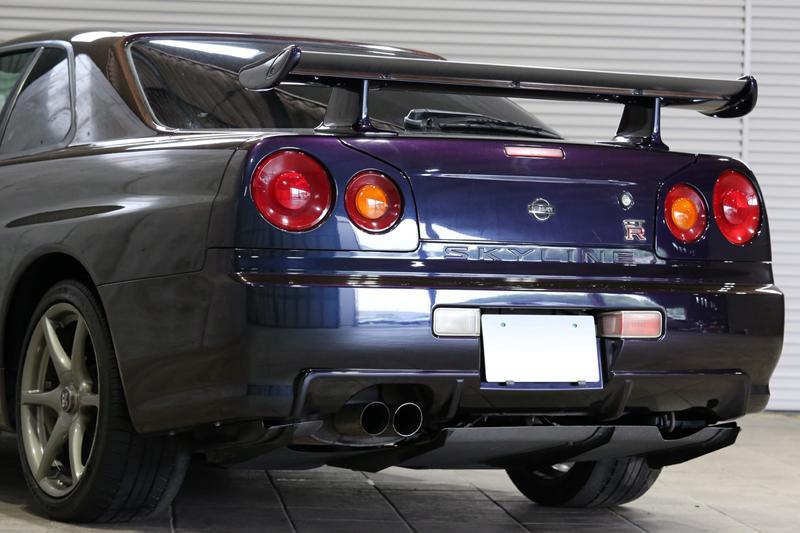 R34 GT-R Vspec rear diffuser
