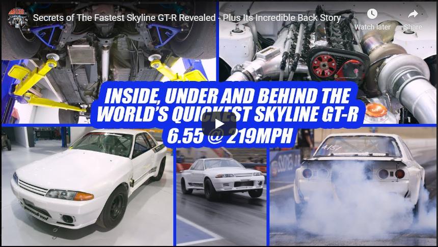 Worlds Quickest Nissan Skyline GT-R