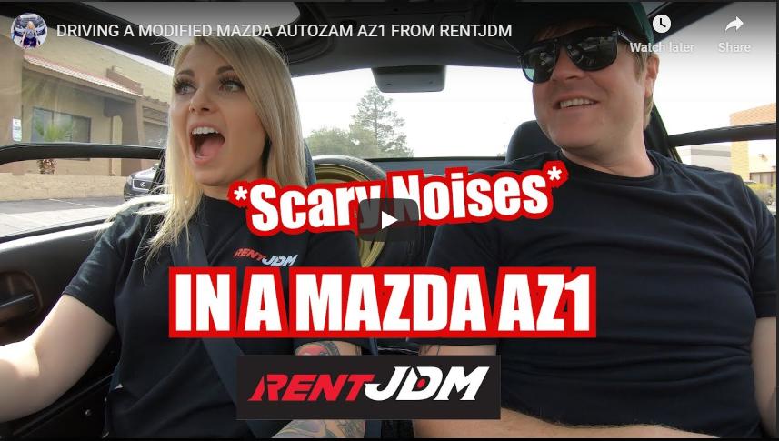 Evo Madi AZ-1 Autozam Mazda