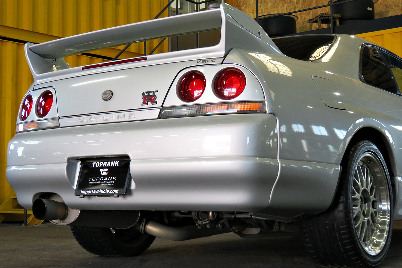 R33 GT-R For Sale in the USA at Toprank Importers Your JDM Source
