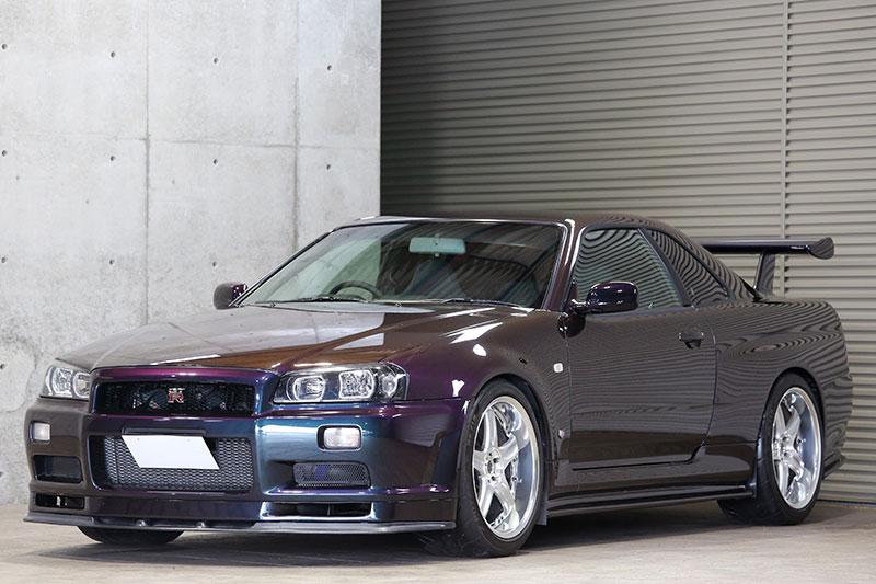 Show or Display Legal Nissan Skyline GT-R Midnight Purple