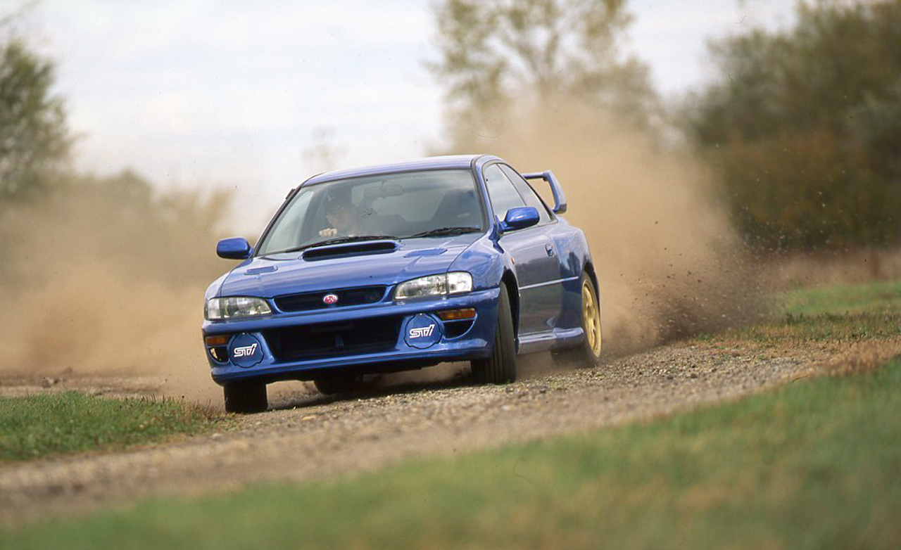 Subaru WRX 22B approved for Show or Display