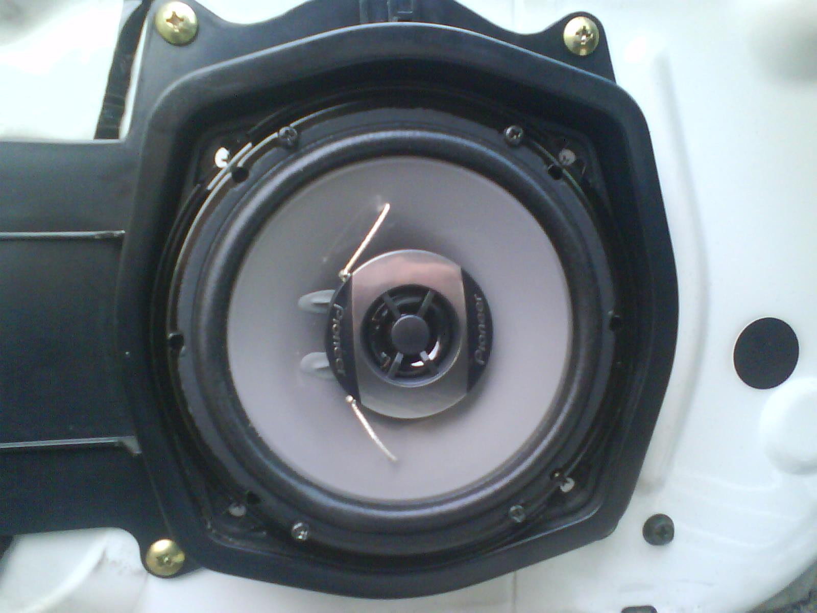 R33 Skyline speakers front door toprank importers