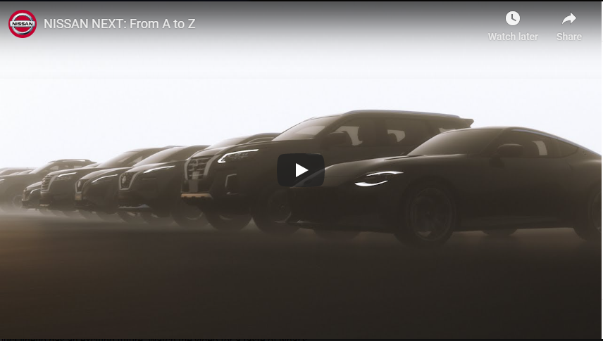 NISSAN NEXT: From A to Z